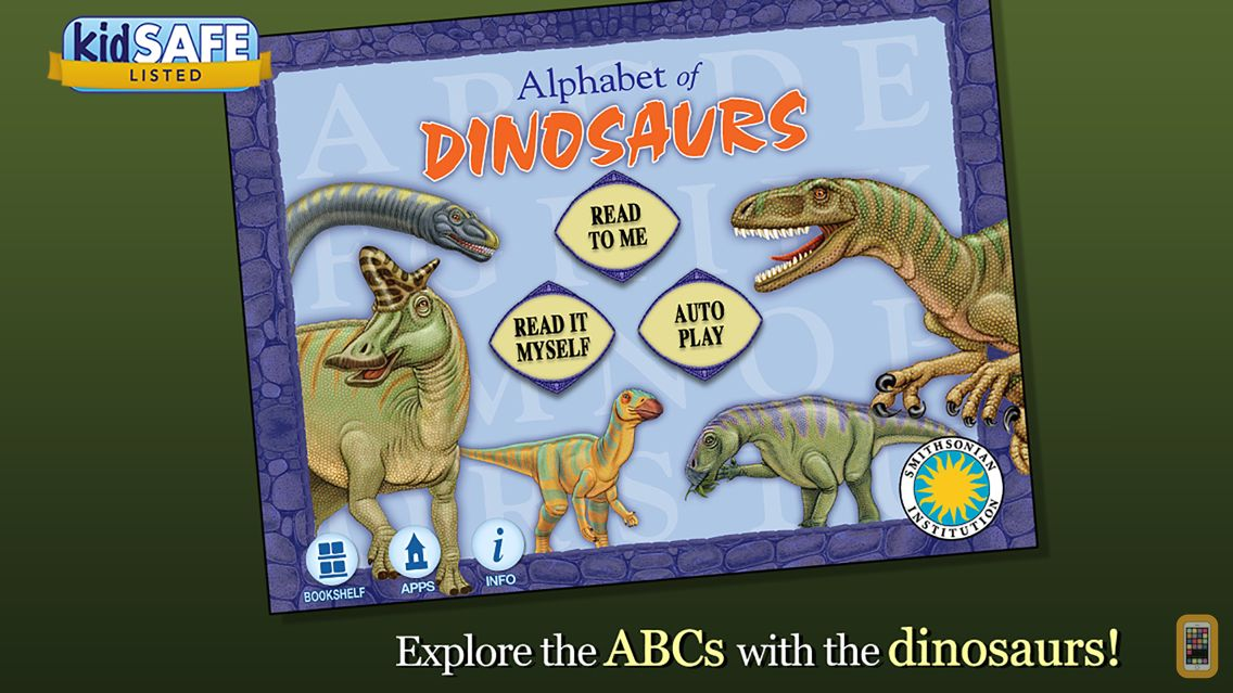 Screenshot - Alphabet of Dinosaurs - Smithsonian Alphabet Books