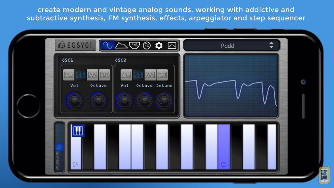 Screenshot - EGSY01 Analog Synth
