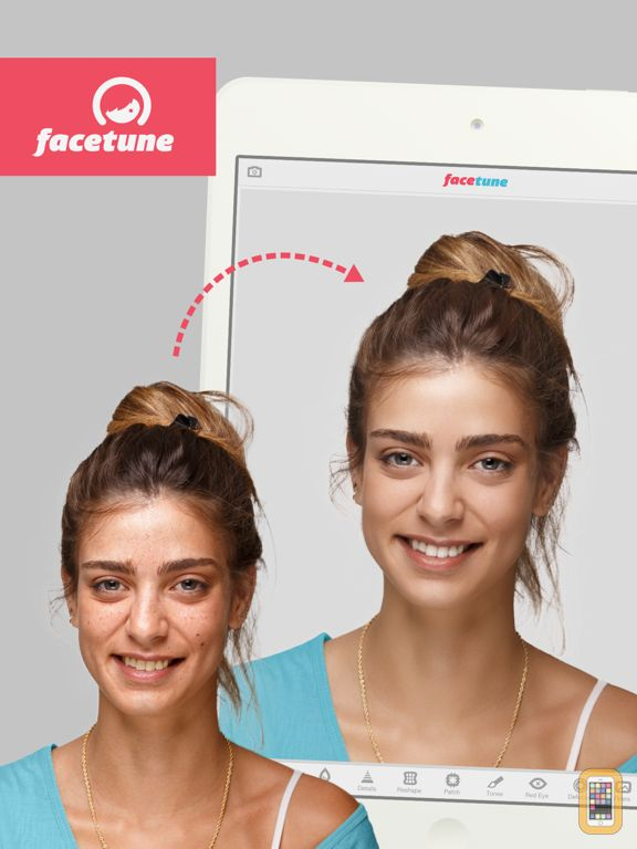 Screenshot - Facetune for iPad