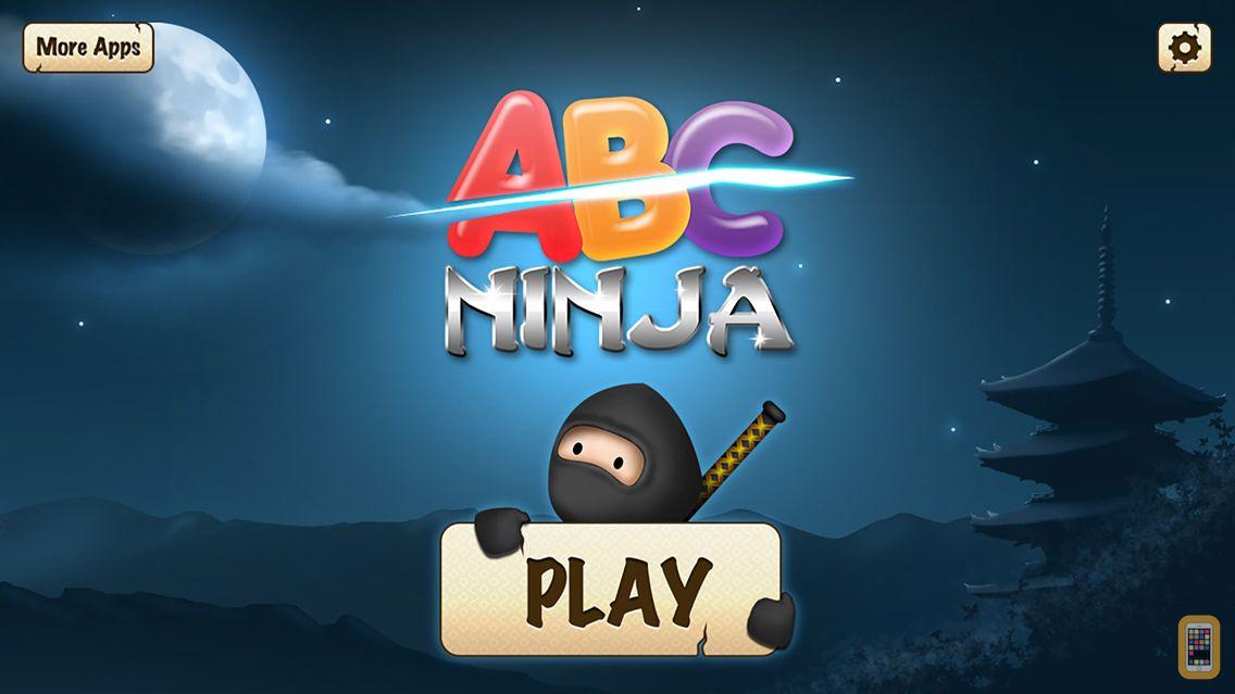 Screenshot - ABC Ninja - The Alphabet Slicing Game for Kids