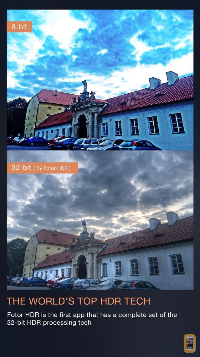 Screenshot - Fotor HDR – HDR Camera & High Resolution Images Creator