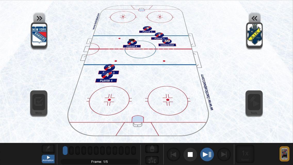Screenshot - TacticalPad Ice Hockey