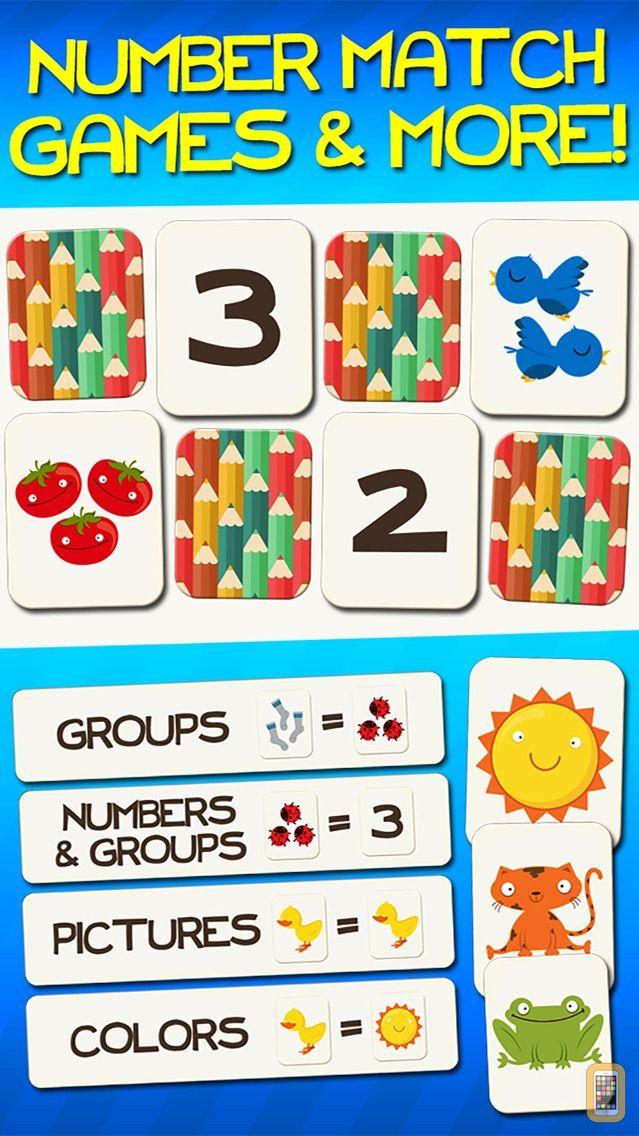 Screenshot - Number Games Match Fun Educational Games for Kids