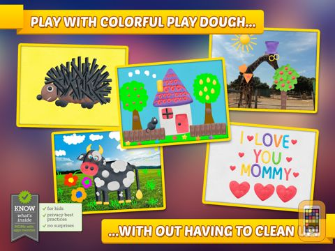 Screenshot - Imagination Box - creative fun with play dough colors, shapes, numbers and letters