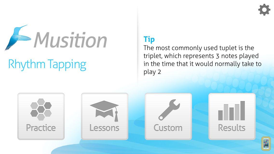 Screenshot - Musition Rhythm Tapping