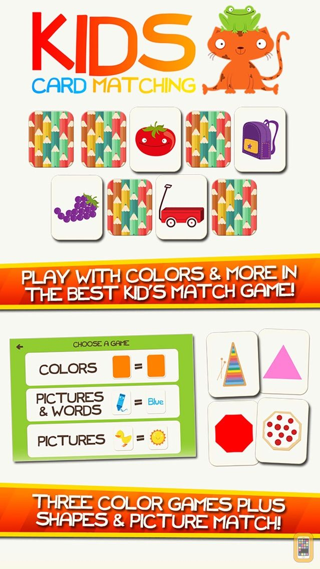 Screenshot - Colors Memory Match! Color Learning Game for Kids