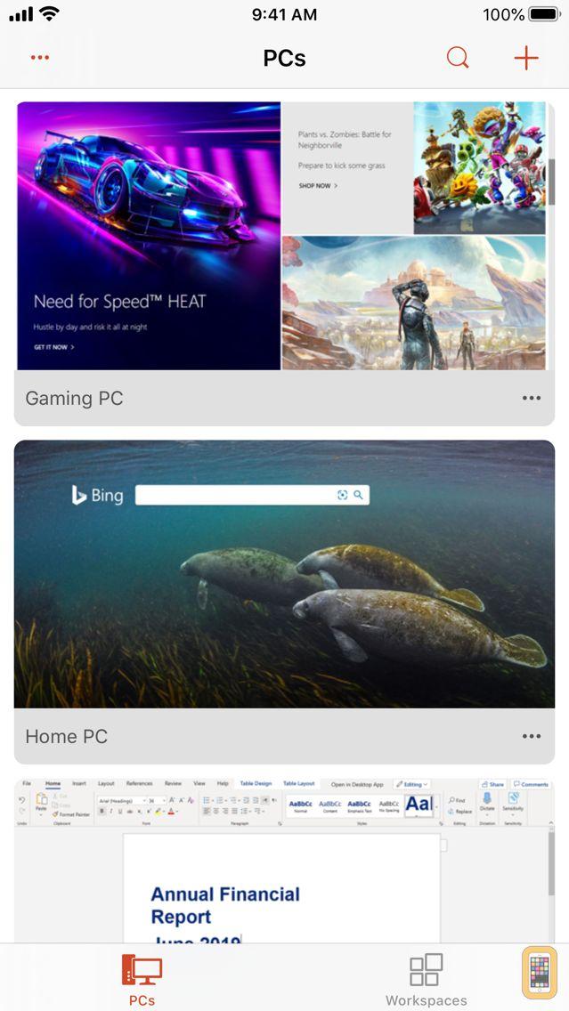 Screenshot - Microsoft Remote Desktop
