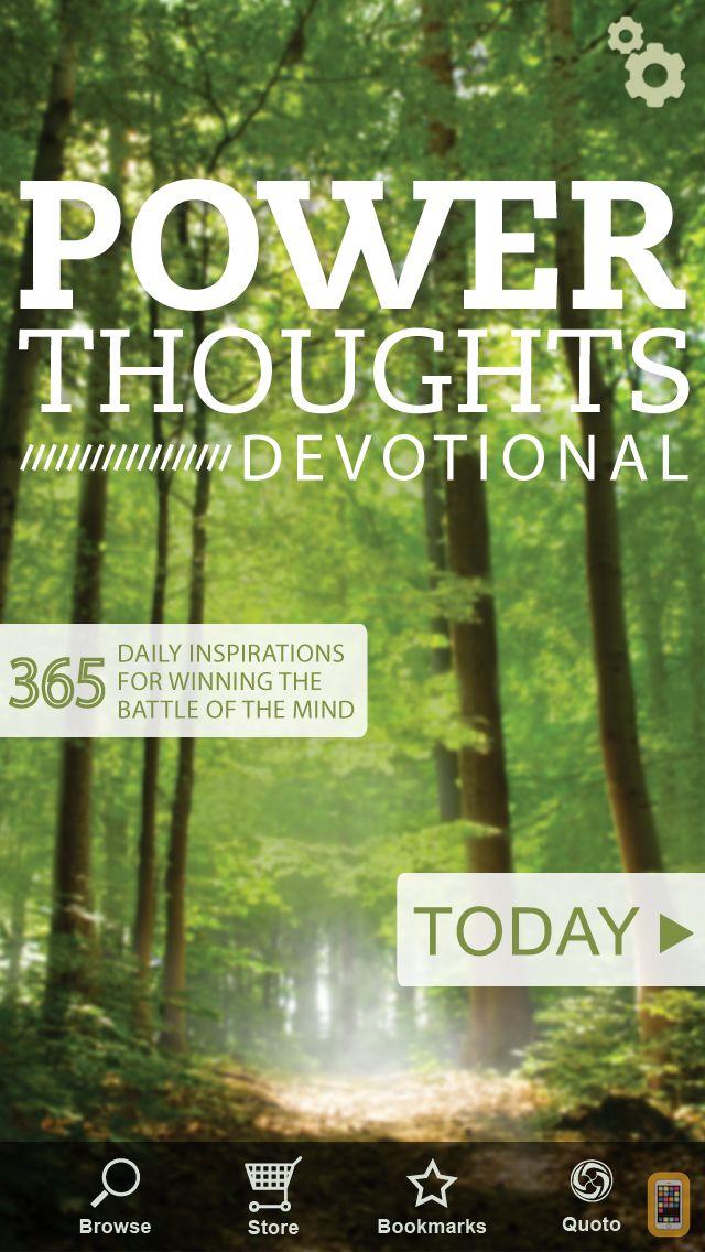 Screenshot - Power Thoughts Devotional
