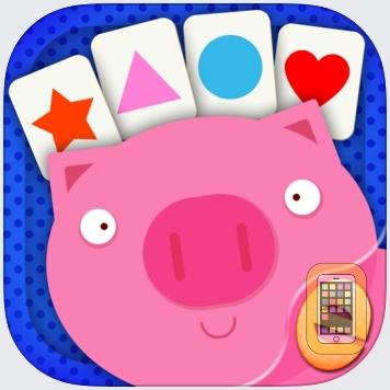 Shape Game & Colors App Preschool Games for Kids by Eggroll Games LLC (Universal)