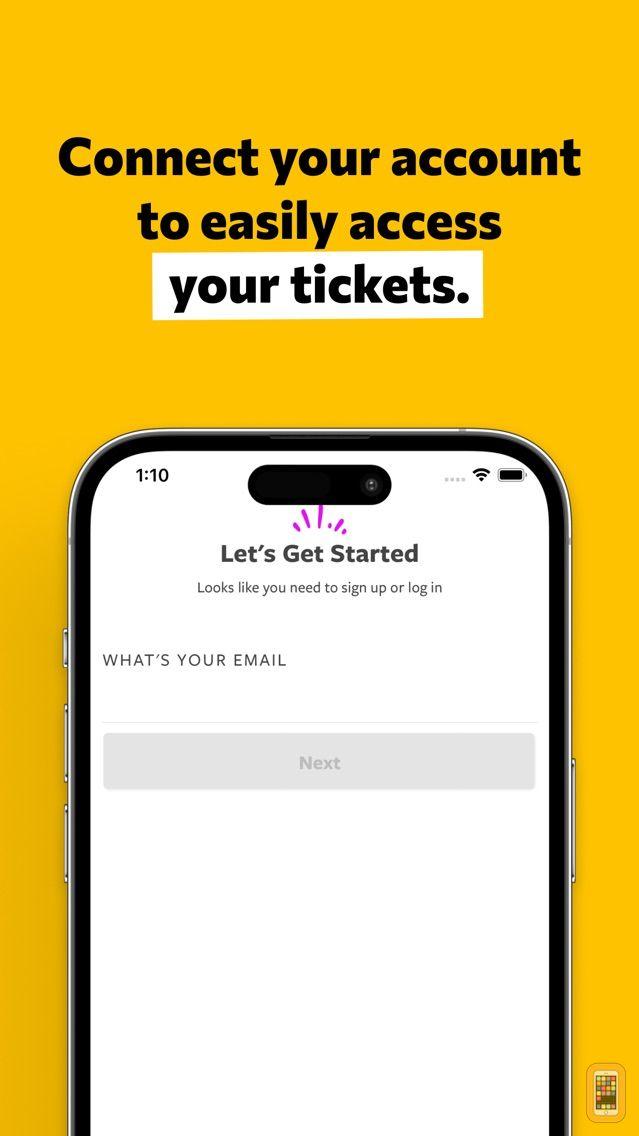 Screenshot - Goldstar Events
