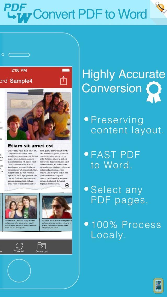 Screenshot - PDF to Word