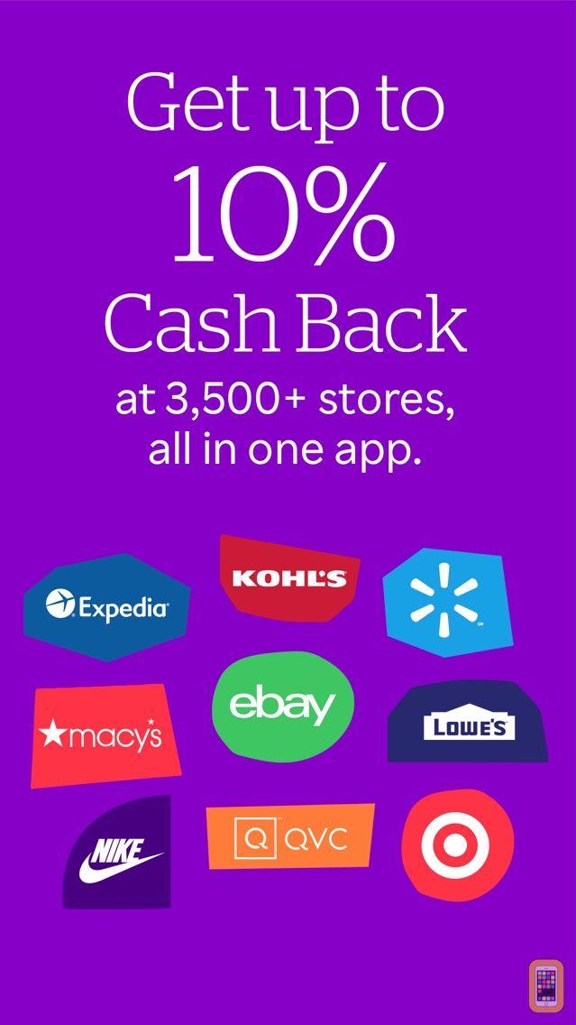 Screenshot - Ebates: Cash Back, Rebates, Promo Codes & Rewards