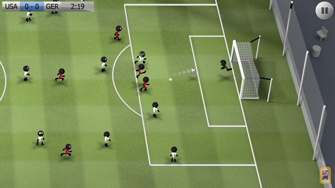 Screenshot - Stickman Soccer