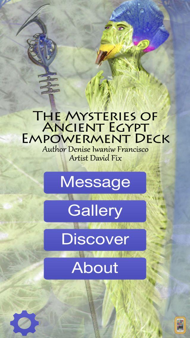 Screenshot - The Mysteries of Egypt Empowerment Deck