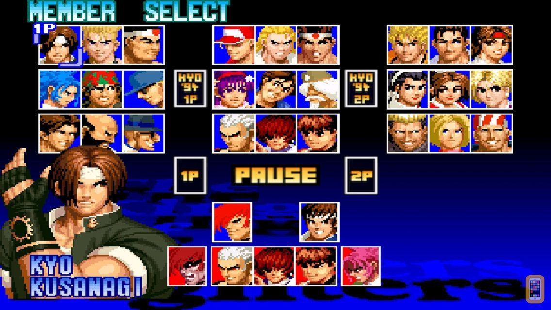 Screenshot - THE KING OF FIGHTERS '97