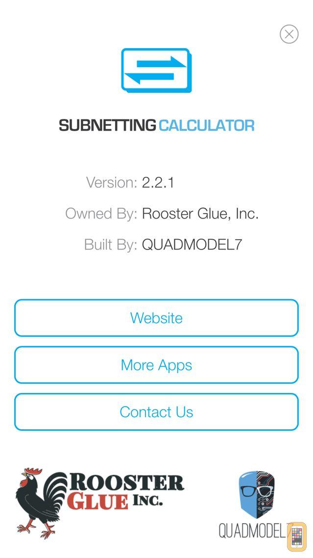 Screenshot - Subnetting Calculator