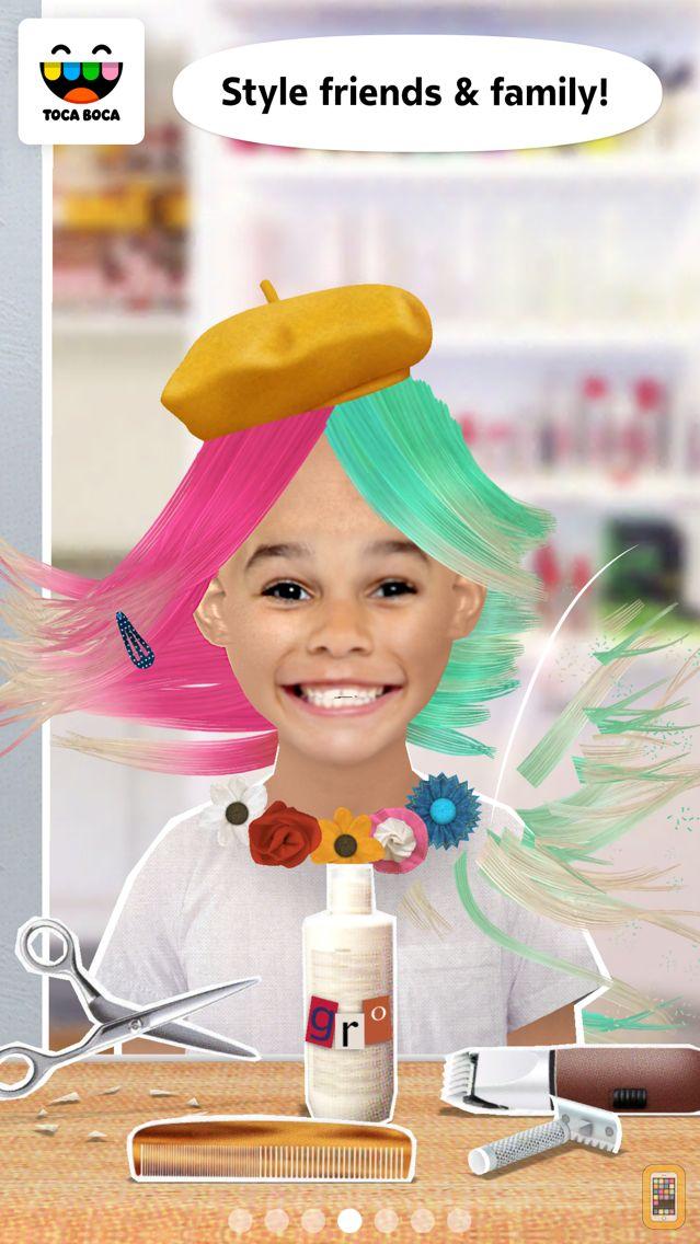 Screenshot - Toca Hair Salon Me