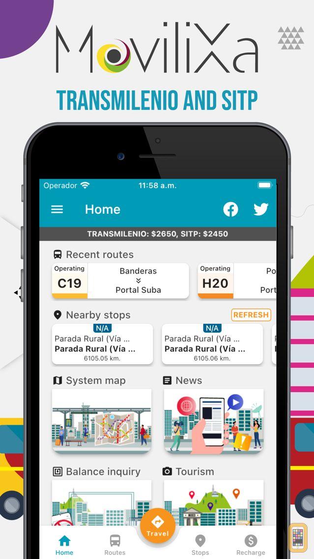 Screenshot - Transmilenio y Sitp