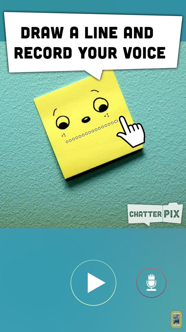 Screenshot - ChatterPix - by Duck Duck Moose