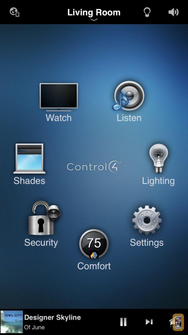 Screenshot - Control4 for OS 2