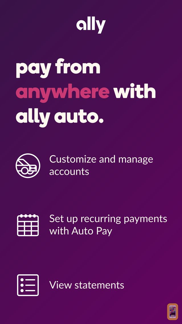 Screenshot - Ally Auto