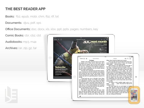 Screenshot - TotalReader for iPad - The BEST eBook reader for epub, fb2, pdf, djvu, mobi, rtf, txt, chm, cbz, cbr