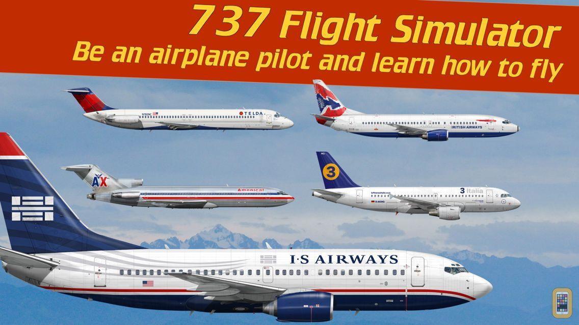Screenshot - 737 Flight Simulator