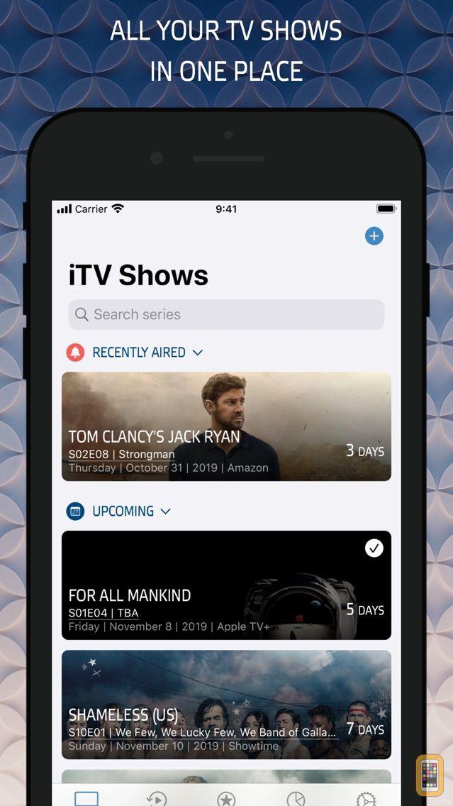 Screenshot - iTV Shows