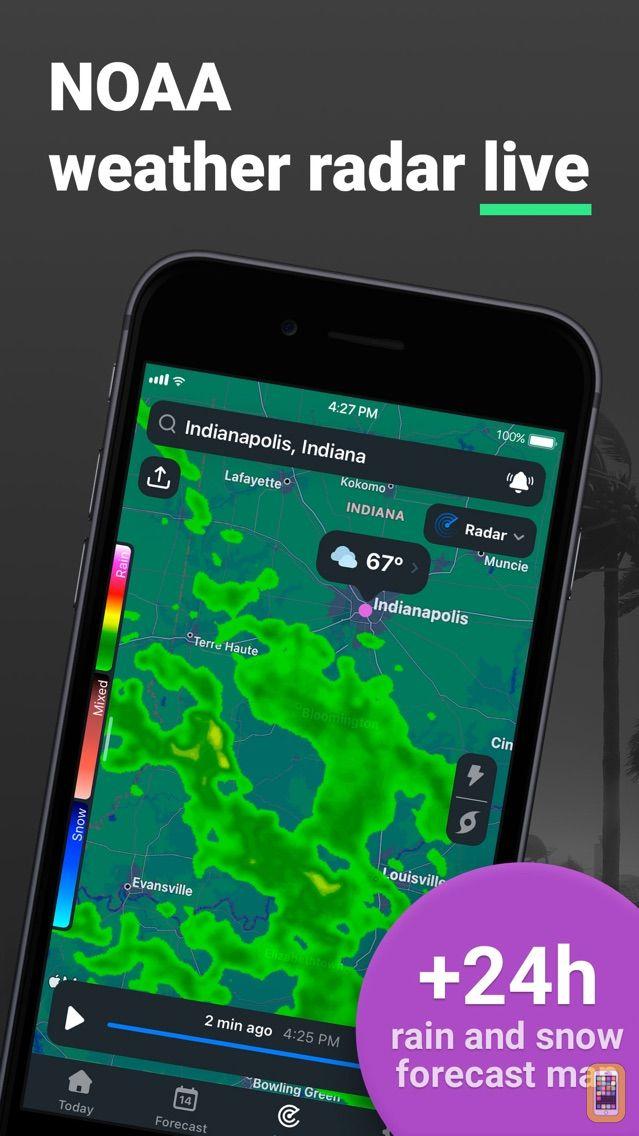 Screenshot - NOAA Weather Radar Live