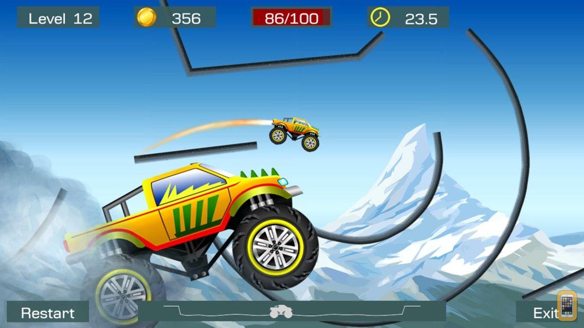 Screenshot - Monster Stunts: Extreme Stunt Truck Racing