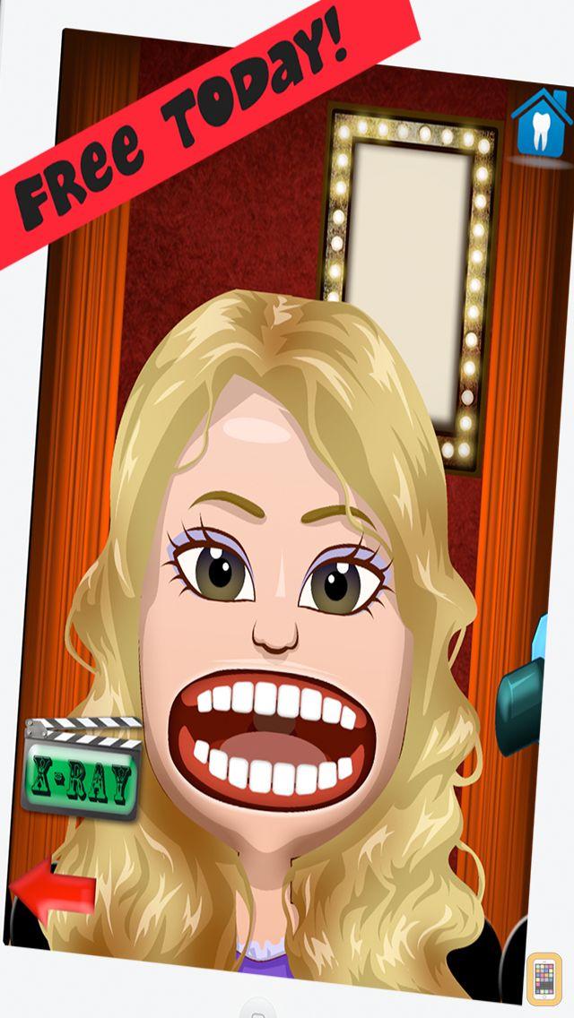 Screenshot - Celebrity Dentist Office Teeth Dress Up Game - Fun Free Nurse Makeover Games for Kids, Girls, Boys