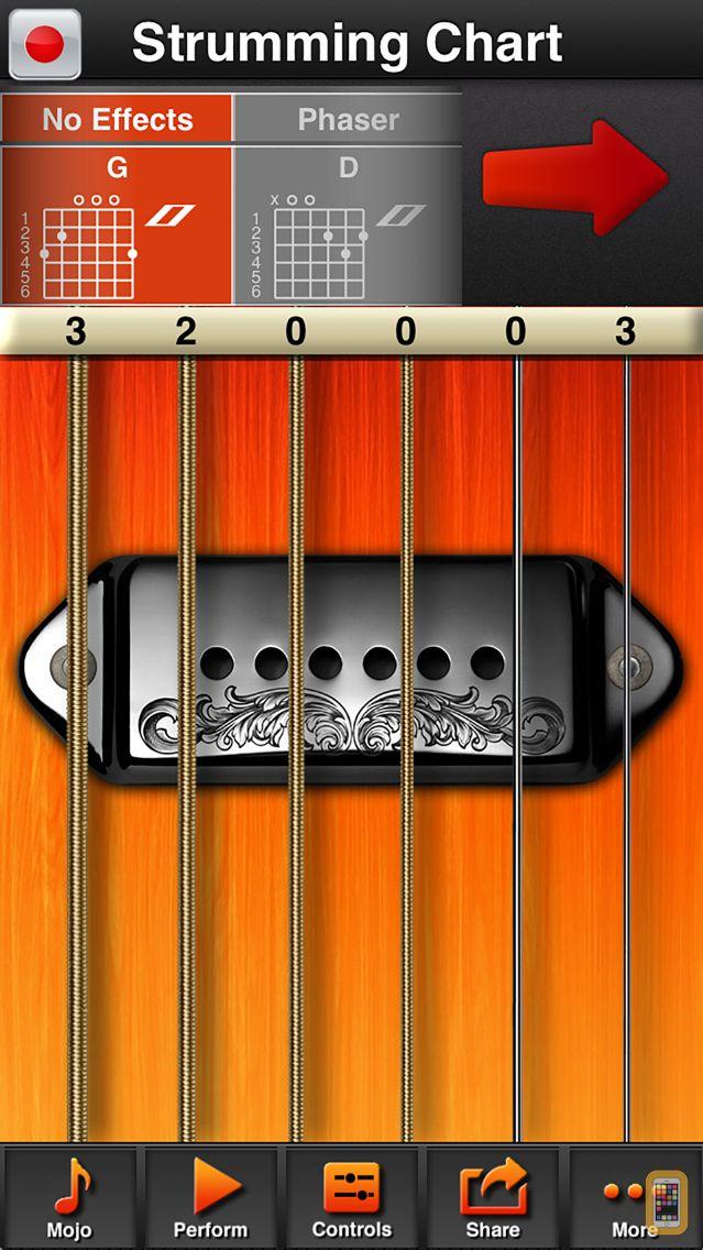 Screenshot - moForte Guitar