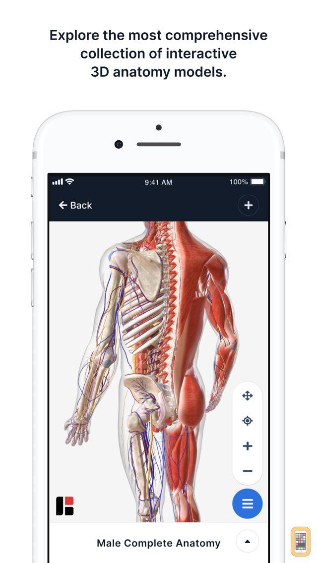 Screenshot - 3D Human Anatomy & Disease