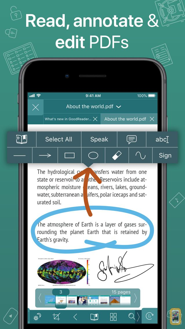 Screenshot - GoodReader