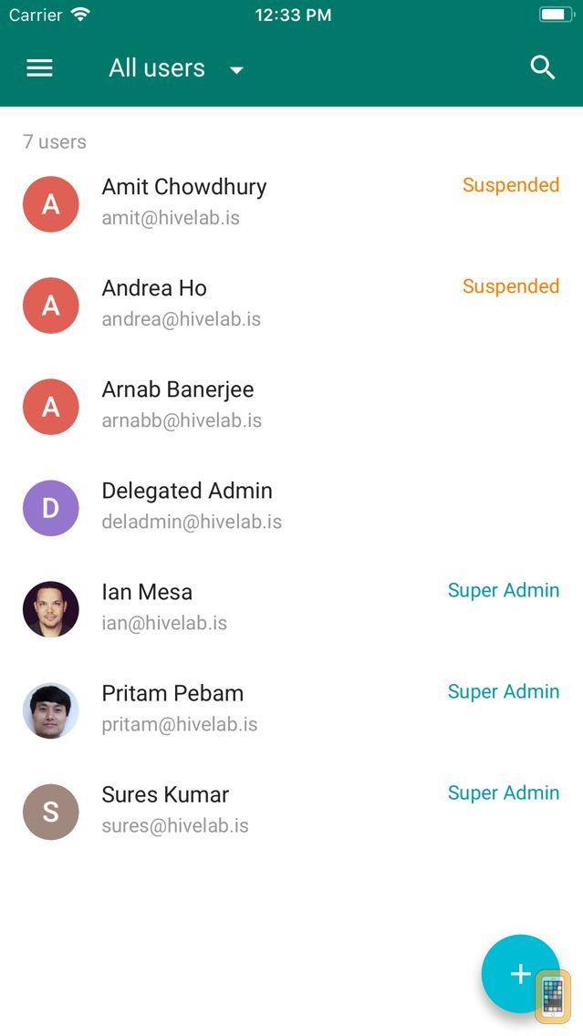 Screenshot - Google Admin