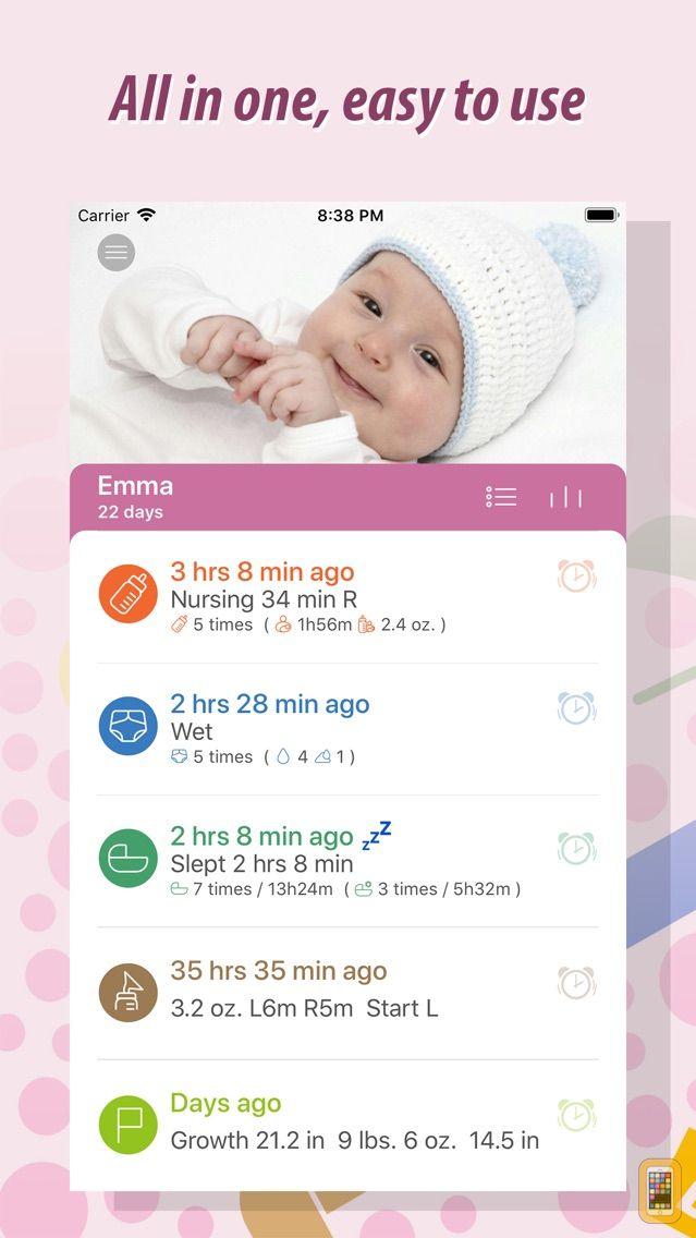 Screenshot - Baby Tracker - Newborn Log