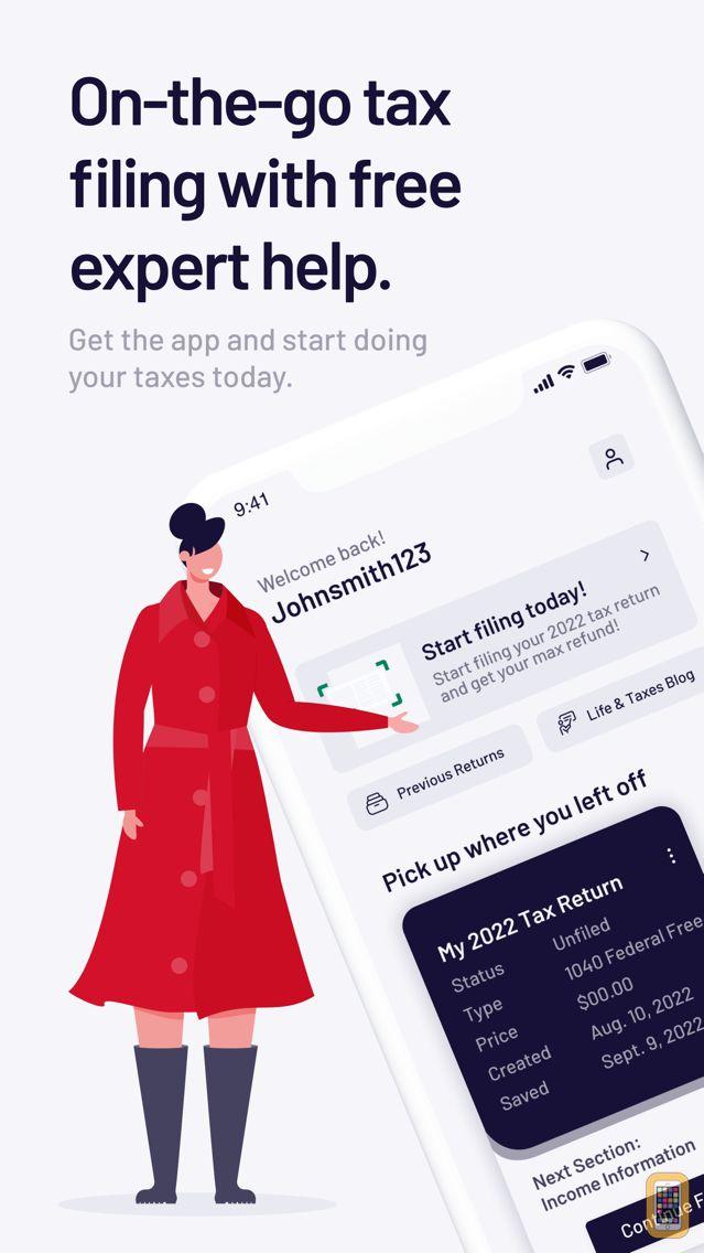 Screenshot - TaxAct Express