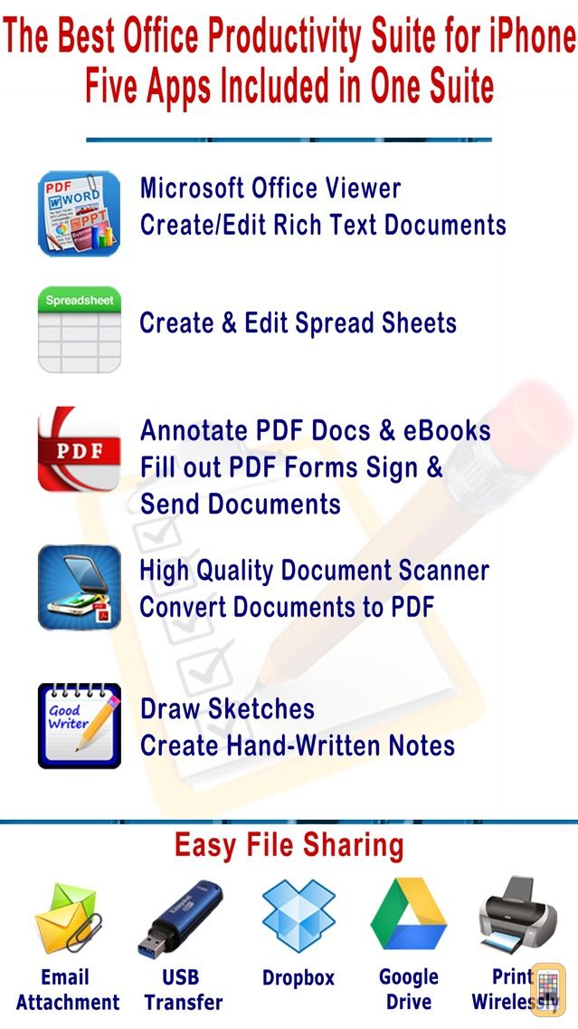 Screenshot - myOffice - Microsoft Office Edition, Office Viewer, Word Processor and PDF Maker