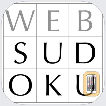 Web Sudoku by Gideon Greenspan (iPad)