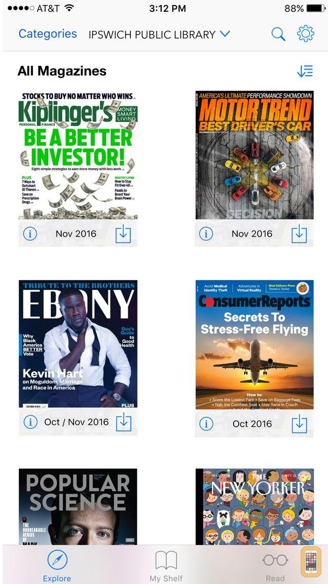 Screenshot - Flipster – Digital Magazines