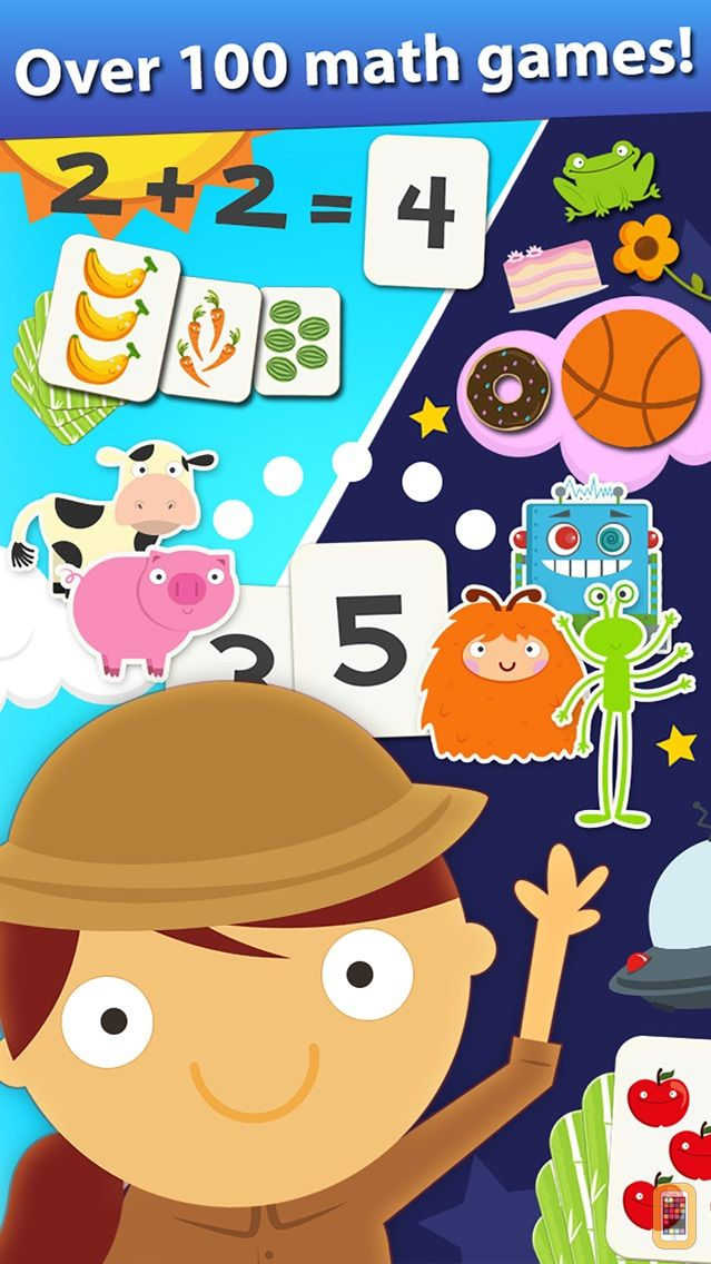 Screenshot - Animal Math Games for Kids in Pre-K, Kindergarten and 1st Grade Learning Numbers, Counting, Addition and Subtraction Premium