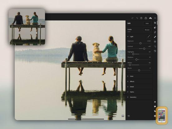 Screenshot - Adobe Lightroom for iPad