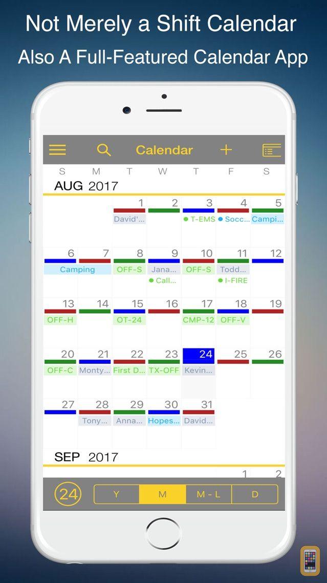 Screenshot - FireSync Shift Calendar