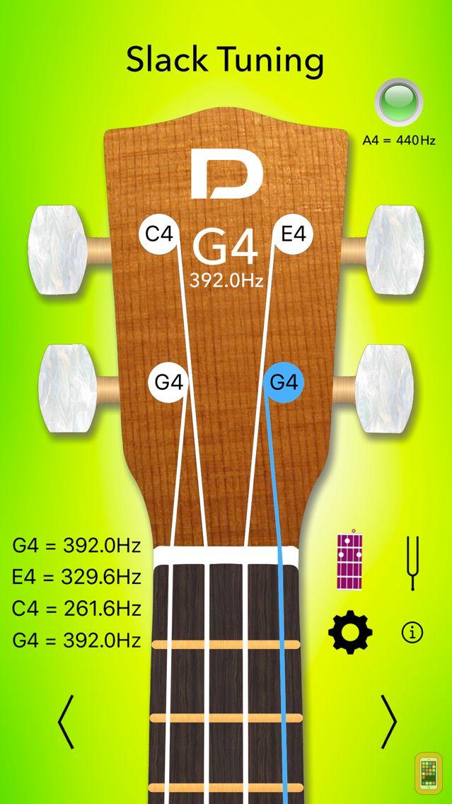 Screenshot - Ukulele Tuner Pro and Chords