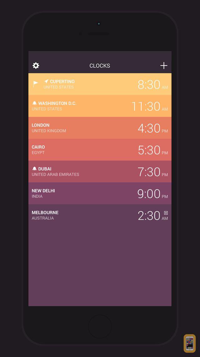 Screenshot - Globo - World Clock and Weather