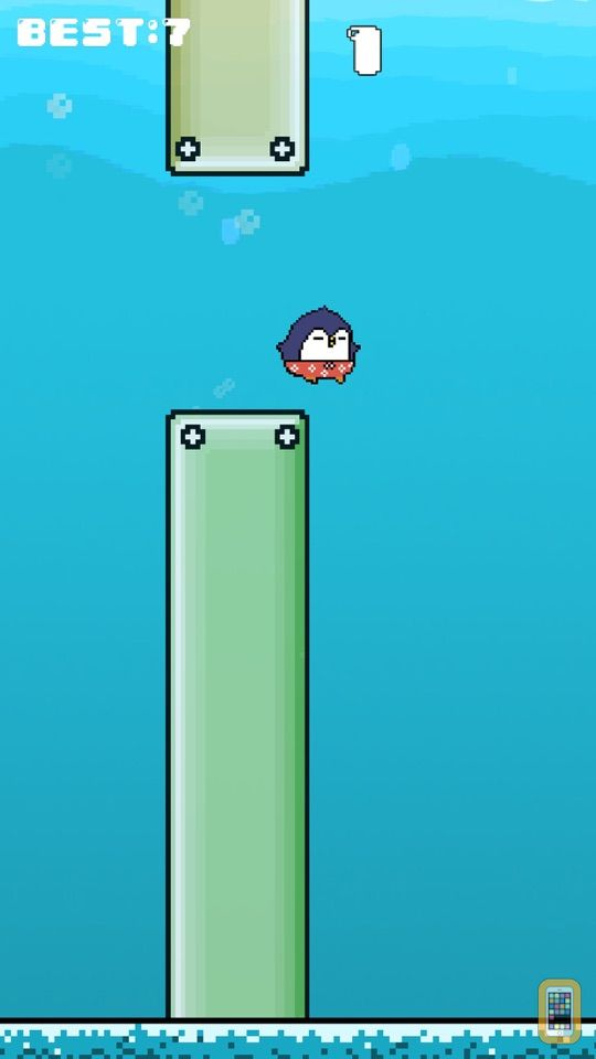 Screenshot - Flappy Swim - Bird or not Birds Free