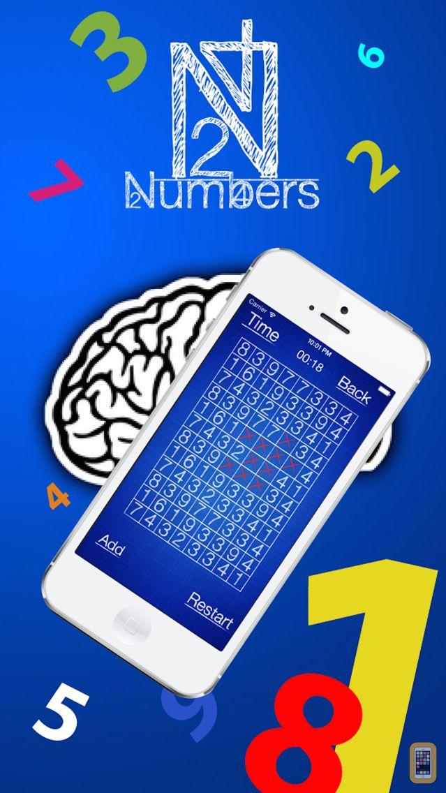 Screenshot - Numbers puzzle - School game