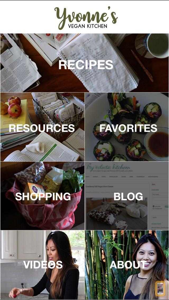Screenshot - Yvonne's Vegan Kitchen