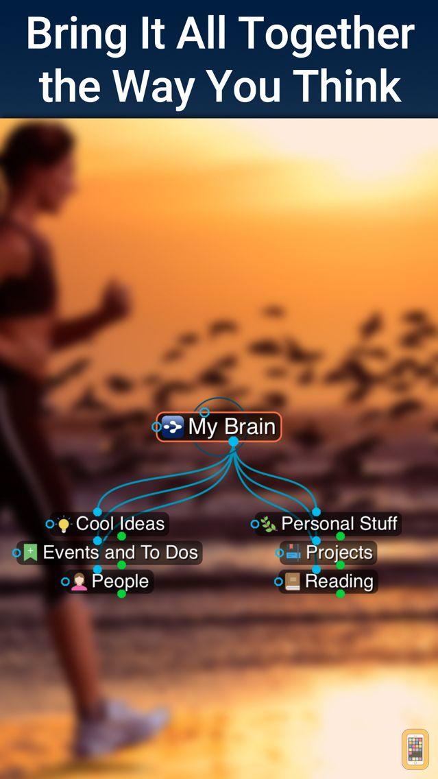 Screenshot - TheBrain for iOS