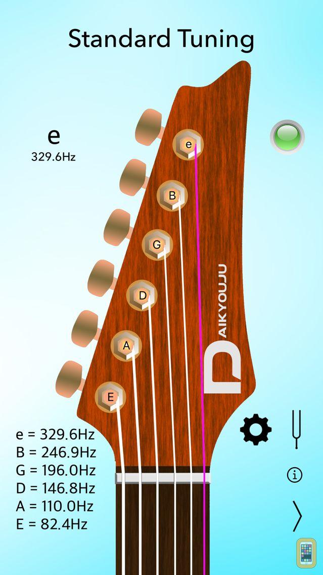 Screenshot - Electric Guitar Tuner